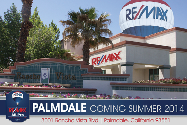 "Press Release ""NEW Palmdale – Rancho Vista Office"""
