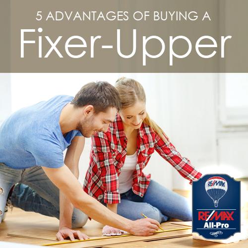 5 Advantages of Buying a Fixer-Upper