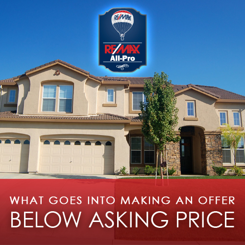 What Goes Into Making an Offer Below Asking Price?