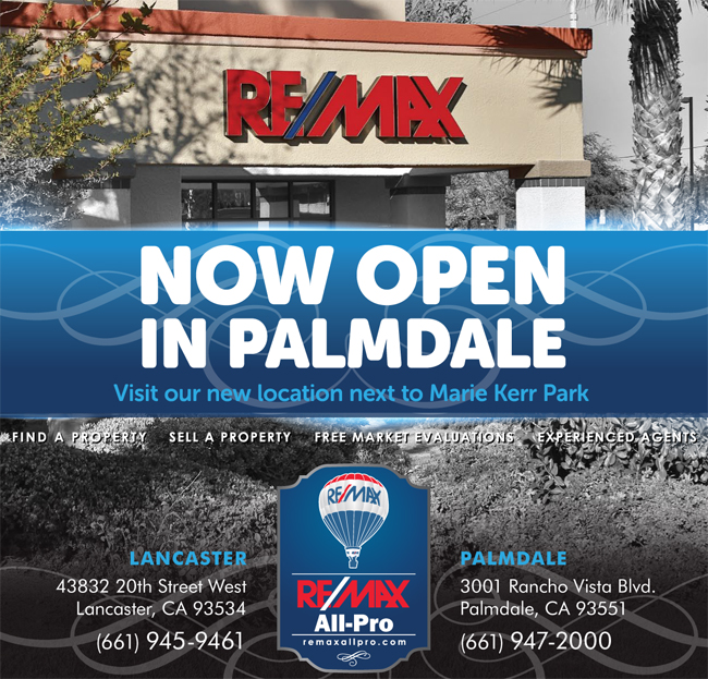 """Press Release """"GRAND OPENING Palmdale – New real estate office opens"""""""