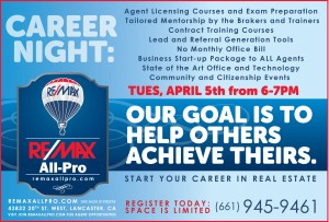 Career night April 5th