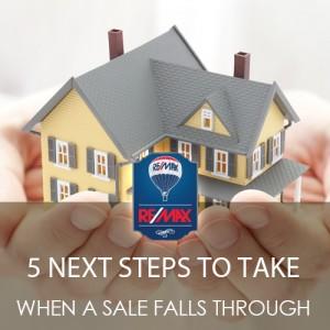 5 Next Steps When a Sale Falls Through