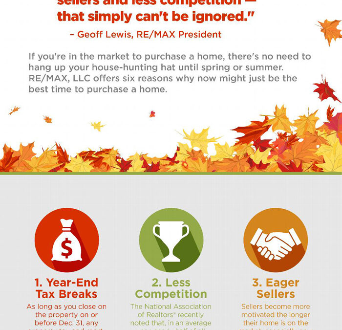 6 Reasons Why Autumn & Early Winter Might Just Be the Best Time to Purchase a Home