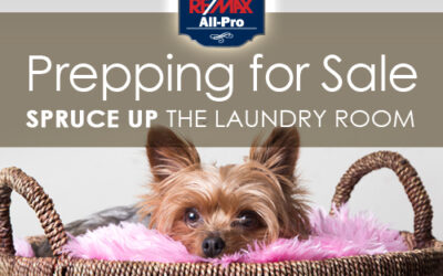Prepping for Sale: Spruce Up the Laundry Room
