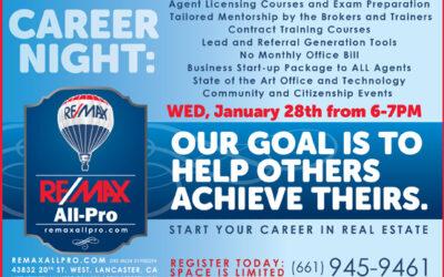 January 28 Career Night